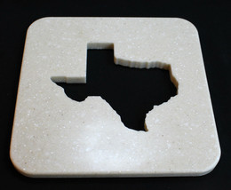 State of Texas Pot Holder, Texas State Kitchen Hot Plate, Texas Trivet - £23.40 GBP