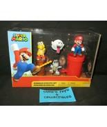 "Jakks Pacific World of Nintendo Super Mario Dungeon Diorama 2.5"" Action ... - $37.98"