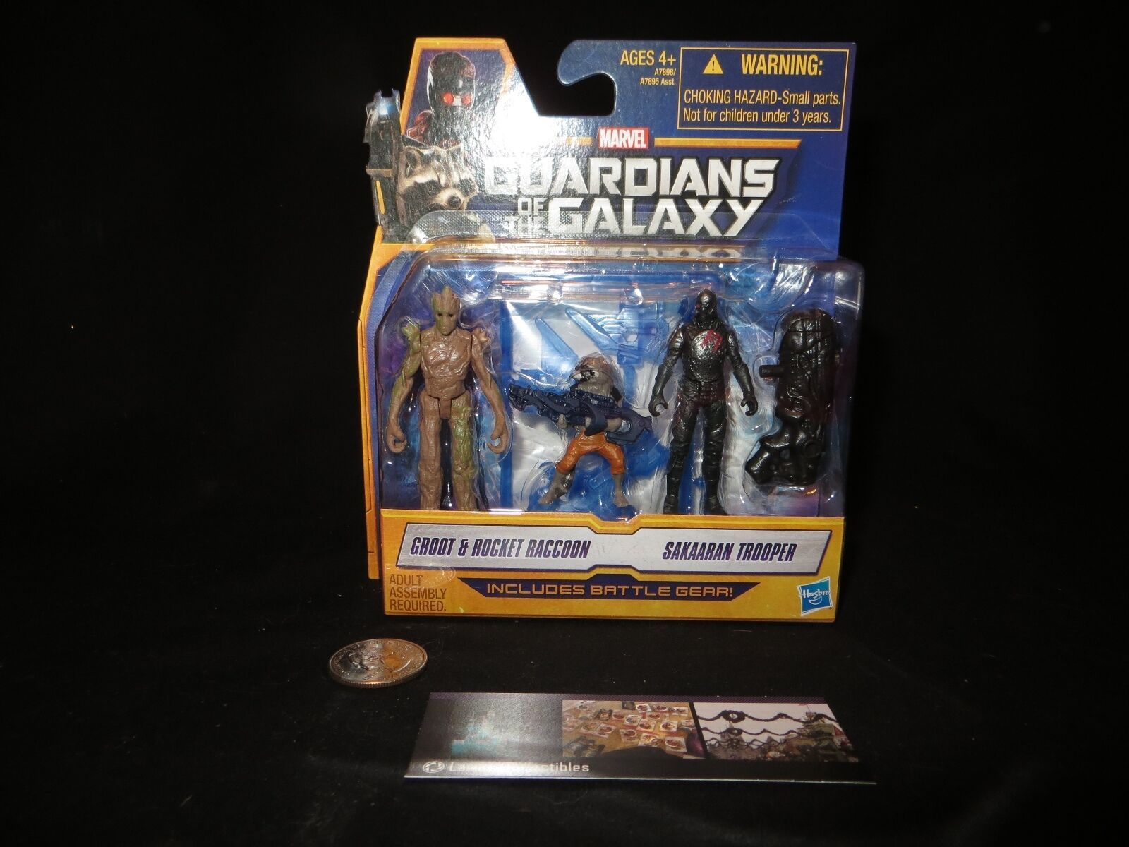 Primary image for Marvel Guardians of the Galaxy Groot & Rocket Raccoon & Sakaaron Trooper New toy