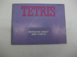 Tetris Nintendo NES Vintage Video Game Booklet Instruction Manual ONLY - $7.93