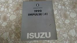1990 Isuzu Impulse Jr Workshop Shop Service Manual Used OEM - $16.84