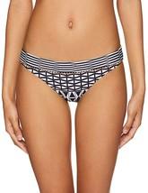 Seafolly Women's Hipster Bikini Bottom Swimsuit, Geometry Black, Size 10 - $26.61