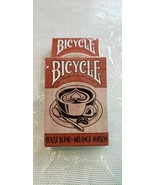 Official BICYCLE HOUSE BLEND COFFEE Playing Card Deck - Brand New & Sealed - $7.08