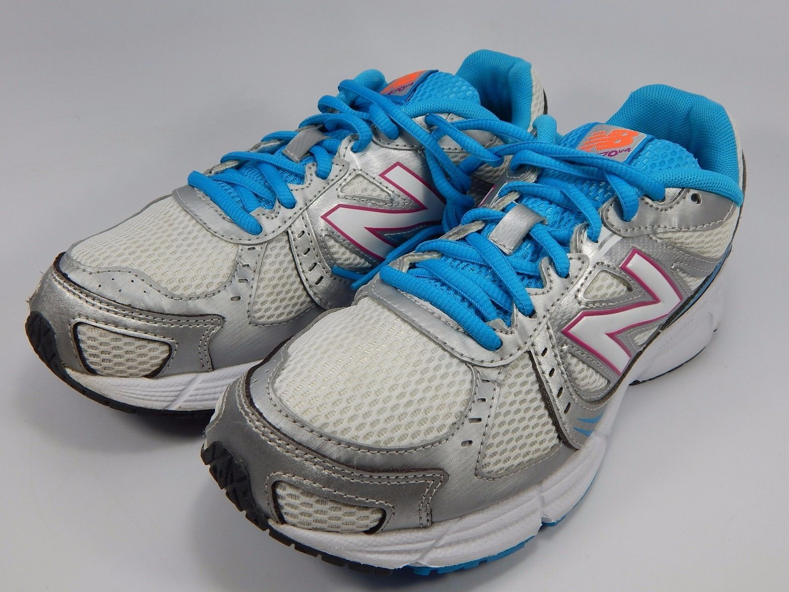 New Balance 470 v4 Women's Running Shoes Size US 8 D WIDE EU 39 Silver W470SP4