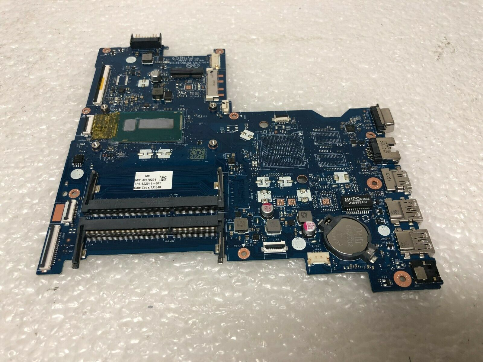 Primary image for HP 250 G4 Notebook motherboard 822041-601 Intel Core i3-5005U
