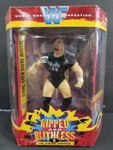 WWF Ripped and Ruthless 1 In Your House STONE COLD Action Figure JAKKS P... - $9.89