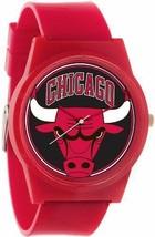 Flud Pantone NBA Rosso Chicago Tori Orologio Basket Chi Ufficiale Targa 23