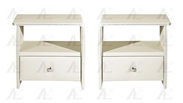 American Eagle NS001-CRM Cream Nightstand - pair/set 2Pcs - $524.00