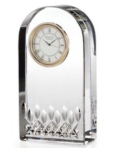 Waterford Lismore Essence Desk Collection Clock - $168.55