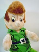 "Disney Peter Pan Plush Doll St. Patrick's Day Green Suit Leprechaun Doll 12"" - $39.00"