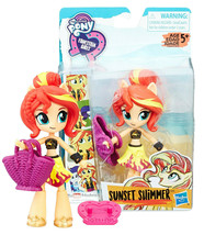 My Little Pony Equestria Girls Minis Beach Collection Sunset Shimmer NIP - $12.88