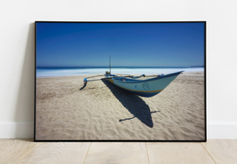 INDONESIA - The Blue Beach Photo Digital Download, Relaxation Photo. - $12.30