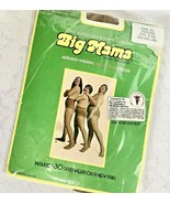 Vtg 1978 Big Mama Extra Large Pantyhose With Reusable Panty TANTONE 230-... - $9.99