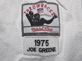 JOE GREENE / NFL HALL OF FAME / AUTOGRAPHED SEELERS WHITE THROWBACK JERSEY / COA image 6