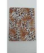 PU Portfolio Orange White Stand Case For iPad 2 3 4 Leopard Print Spot B... - $6.92