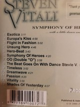 Symphony of Heroes by Steven Vitali Cd image 2