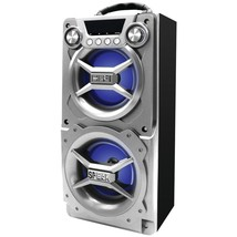 SYLVANIA SP328-SILVER Bluetooth(R) Speaker with Speakerphone (Silver) - $49.07