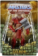 NEW SEALED 2013 Masters of the Universe Classics Geldor Action Figure MOTU - $49.49