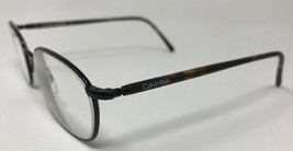 CALVIN KLEIN Eyeglasses Frame Italy Mod.262-590 50-20-140 Black/Tortoise... - $46.31