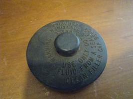 vintage truck brake fluid reservoir cap marked ADM 24729 14 unknown mode... - $7.38