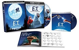 E.T. The Extra-Terrestrial 35th Anniv. Limited Ed (4K Ultra HD+Blu-ray+Book+CD)