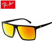 Square Sunglasses Men Brand Designer Mirror Photochromic - $9.51