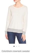 Gap Factory Colorblock Crewneck Sweater: Medium - $14.85
