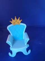 Fisher Price Little People Kingdom Castle Prince Princess Royal Throne C... - $7.00