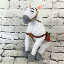 Disney Tangled Maximus Horse Plush White Stallion Stuffed Animal Soft Toy - $16.82