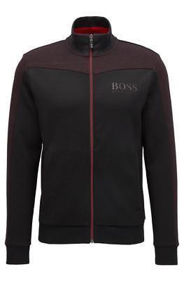 Hugo Boss Men's Premium Zip Up Sport Sweatshirt Track Jacket Skaz 50379131