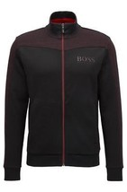 Hugo Boss Men's Premium Zip Up Sport Sweatshirt Track Jacket Skaz 50379131