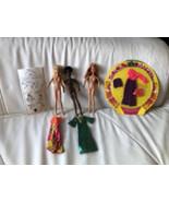 Vintage 1970 Mattel Rock Flowers  Dawn-Like Dolls Moc Outfit, Lyrics - $111.11