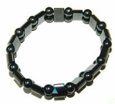 AHCS Metallic Black Magnetic Bracelet for Men and Women-useful magnetic ... - $8.17