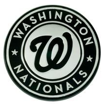 Fanmats MLB Washington Nationals Diecast 3D Chrome Emblem Car Truck  2-4 Day Del - $14.84