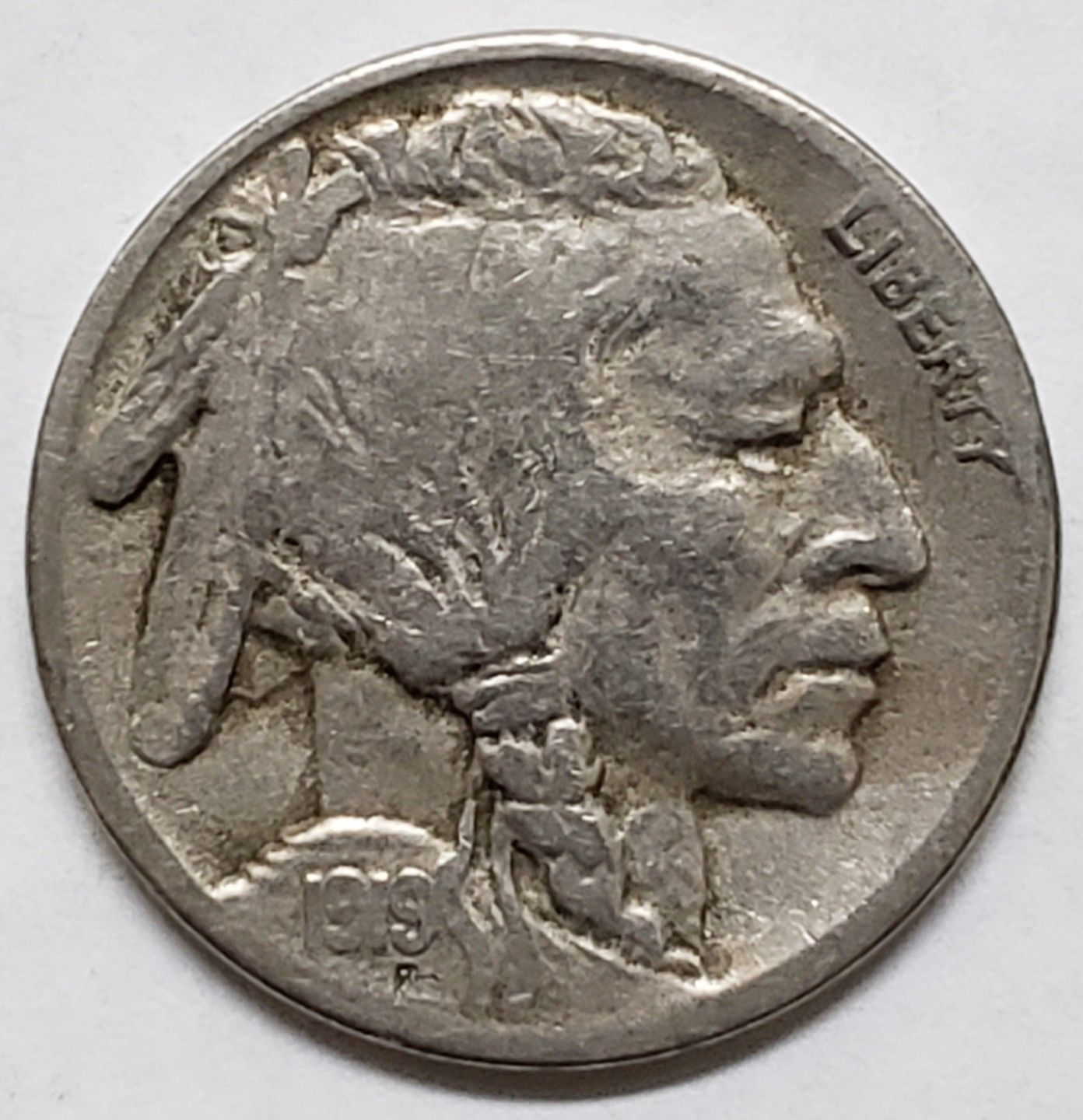 1919S  Buffalo Nickel 5¢ Coin Lot # MZ 4793