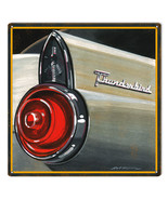 Reproduced from Original Art by Bob Miller Ford Thunderbird Rear Tail Light Sign - $25.74