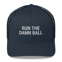 Run the Damn Ball / run the Damn Ball / Trucker Cap image 4