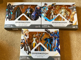 Hasbro Overwatch Ultimates Action Figures Lot Ana Soldier 76 Tracer Mccr... - $78.39