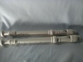 2 Student Soprano Recorder Woodwind Instrument School Orchestra Band - $23.75