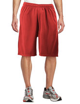 Men's Basketball Athletic Workout Active Lightweight Mesh Fitness Sports Shorts image 12