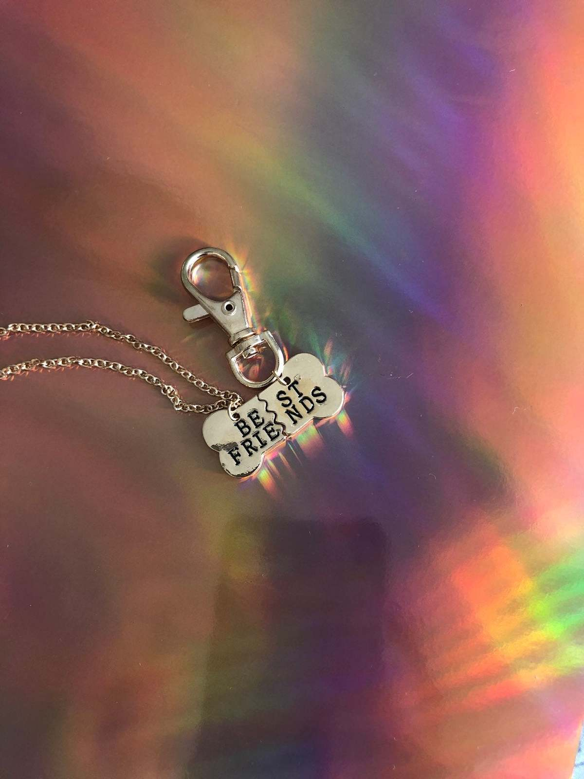 Best friends owner and pet collar charm / pet collar charm / collar accessories  image 3