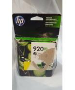 NIP HP 920XL (CD975AN) Black High Yield Original Ink Cartridge - $29.69