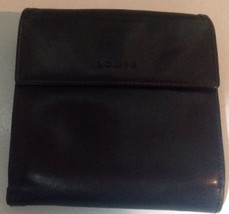 "LODIS Black  Leather Mini Wallet- 3.5"" x 3.75"" - $38.65"