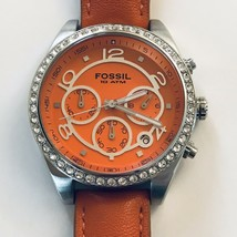 Fossil Women's CH2562 Crystal Accented Chronograph Watch NWOT - $57.95