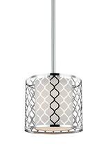 Sea Gull Lighting 6115501-962 Jourdanton One-Light Mini-Pendant Hanging Modern L - $172.33