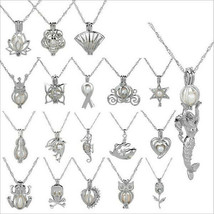 Assorted Oyster Pearl Fashion Locket Pendants - $7.99