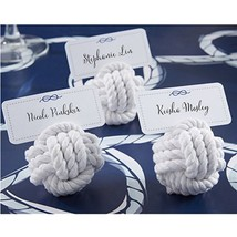 Nautical Cotton Rope Place Card Holder (Set of 36) - $75.44
