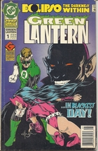 (CB-8) 1992 DC Comic Book: Green Lantern Annual #1 { Eclipso app. } - $3.00