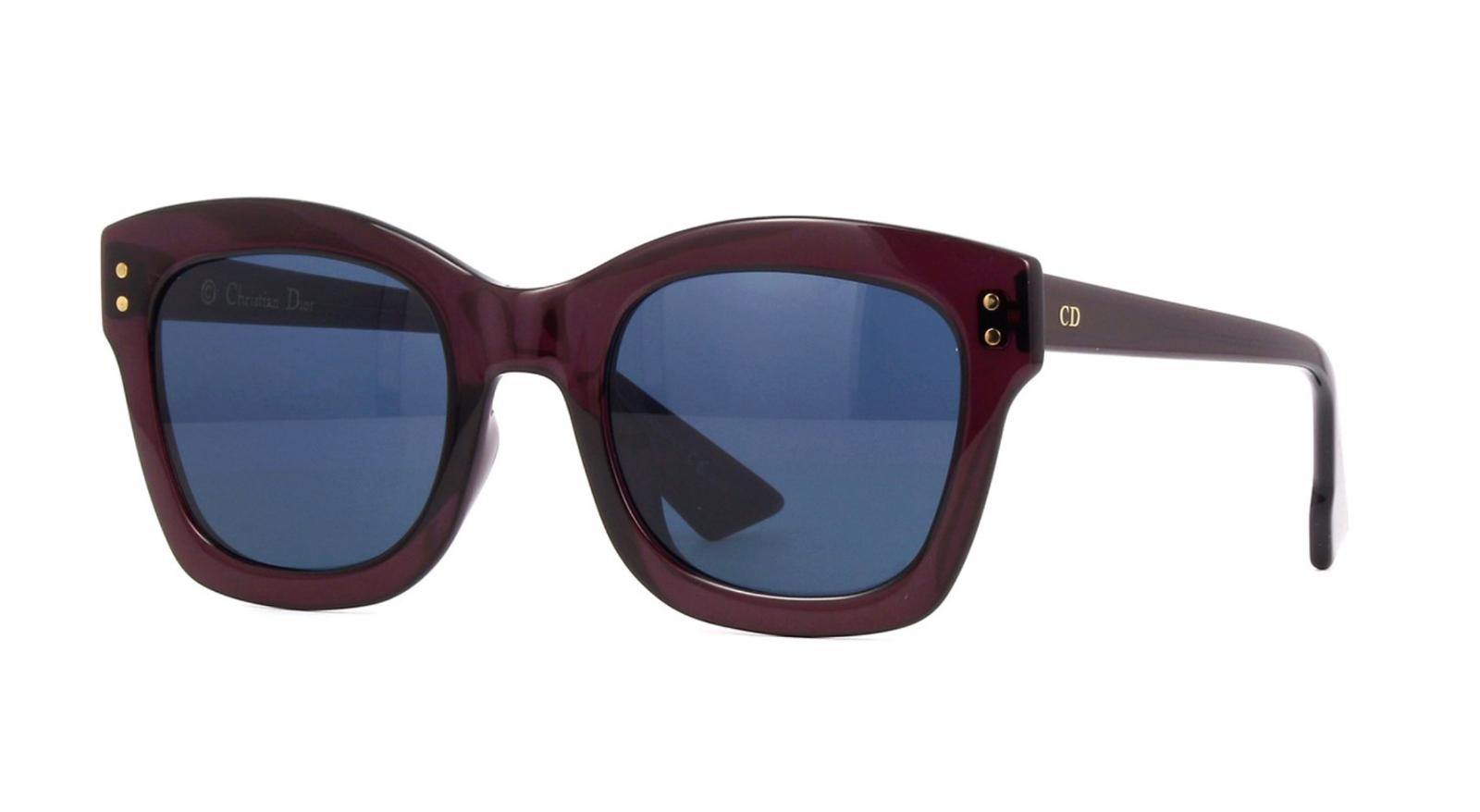 f9a19404f6c Christian Diorizon2 0T7KU Sunglasses Plum Frame Blue Lenses 51mm - £152.49  GBP · Advanced search for Christian Dior Sunglasses