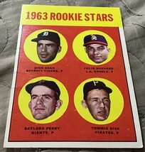 1963 Topps Gaylord Perry #169 Baseball Card - $9.99